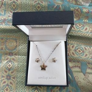 Star 925 Sterling Silver set marked 925